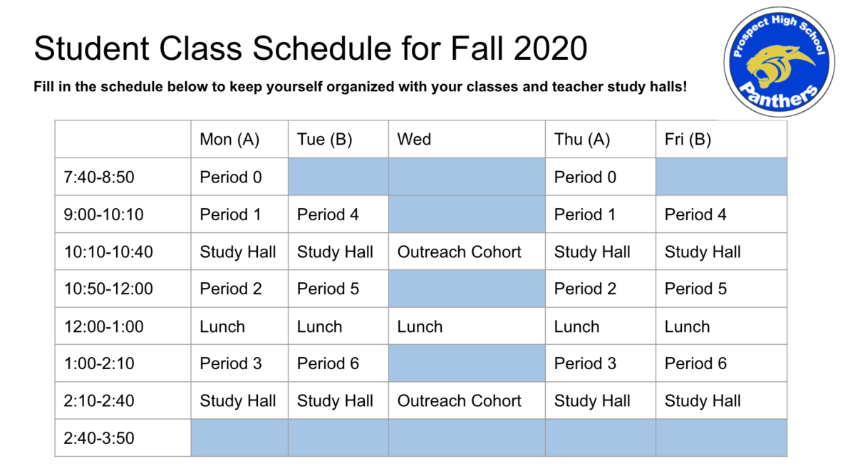 Fillable Schedule