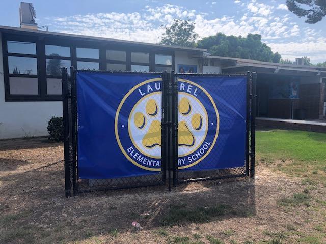 New school banner