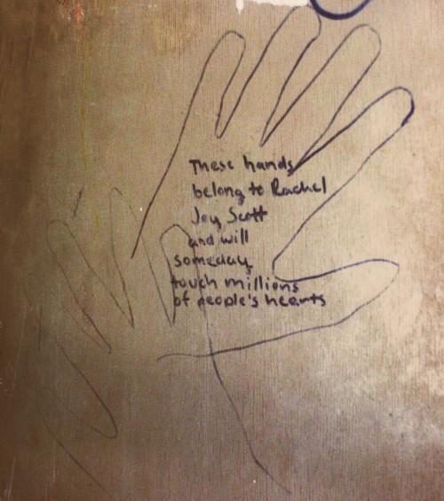 rachels hands