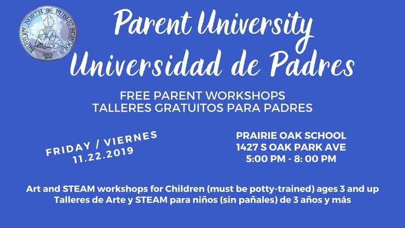 Parent University / Universidad de Padres Thumbnail Image