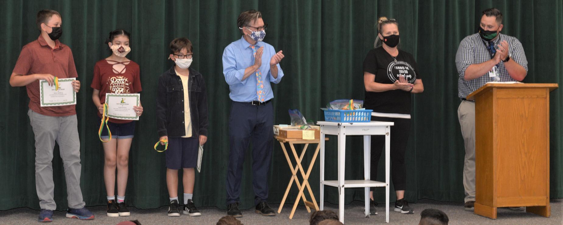 5th grade awards assembly