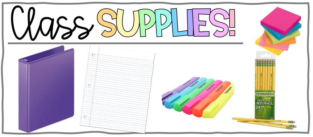 ELA Supplies