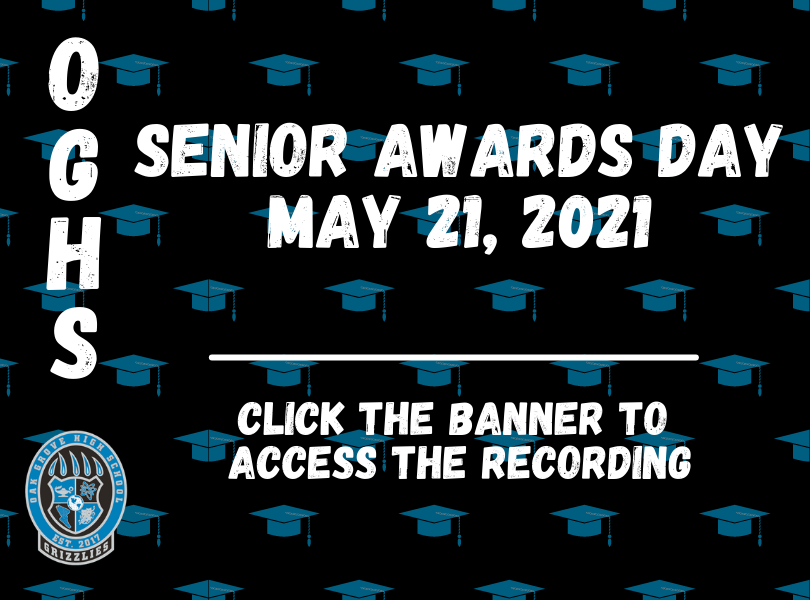 Senior Awards Day Video - Click Link to Access Recording