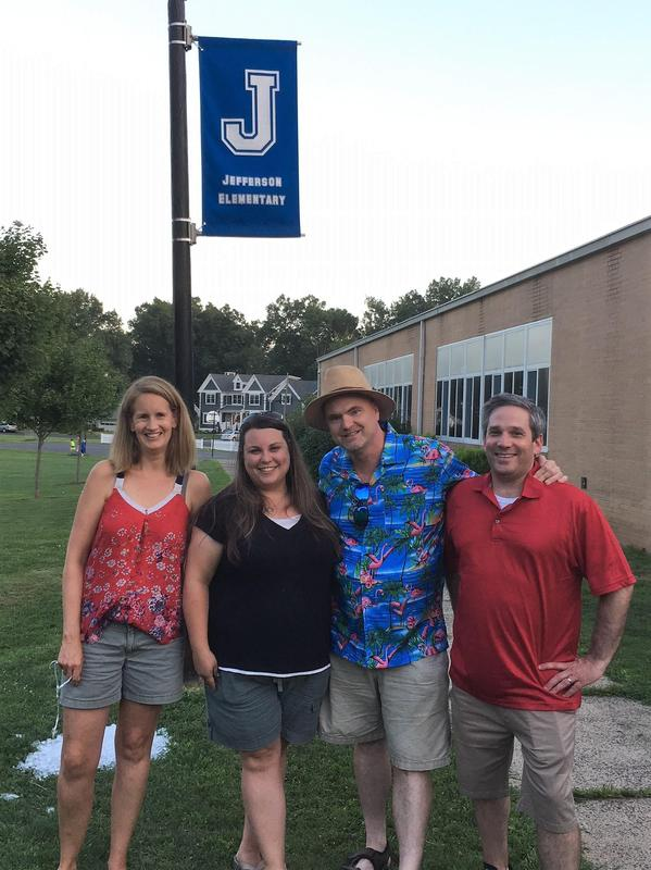 Jefferson School PTO helps organize and run the Summer Social.