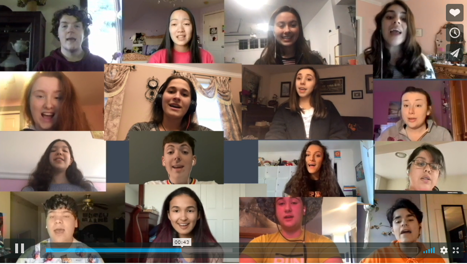 Vimeo Link to Happy Together virtual choir performance