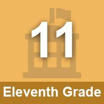 Eleventh Grade button
