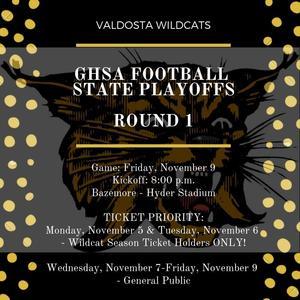 GHSA Round 1 Ticket Info