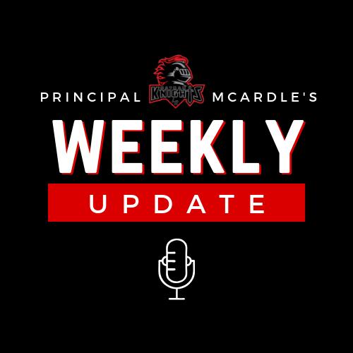 Principal McArdle's Weekly Update