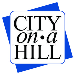 City on a Hill logo in blue