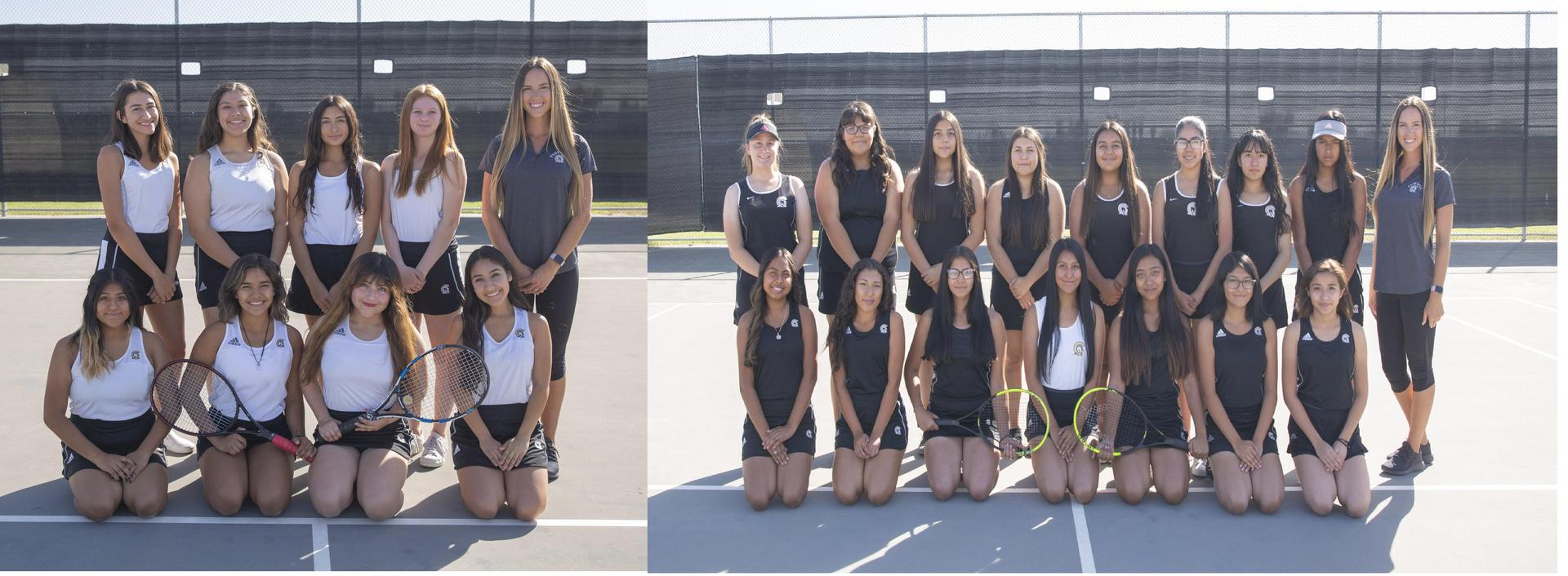 FHS Girls Tennis 2019