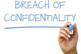 Breach of Confidentiality Clipart