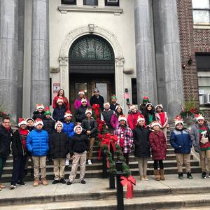 Washington School Carolers
