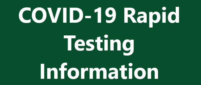 COVID-19 Rapid Testing Information