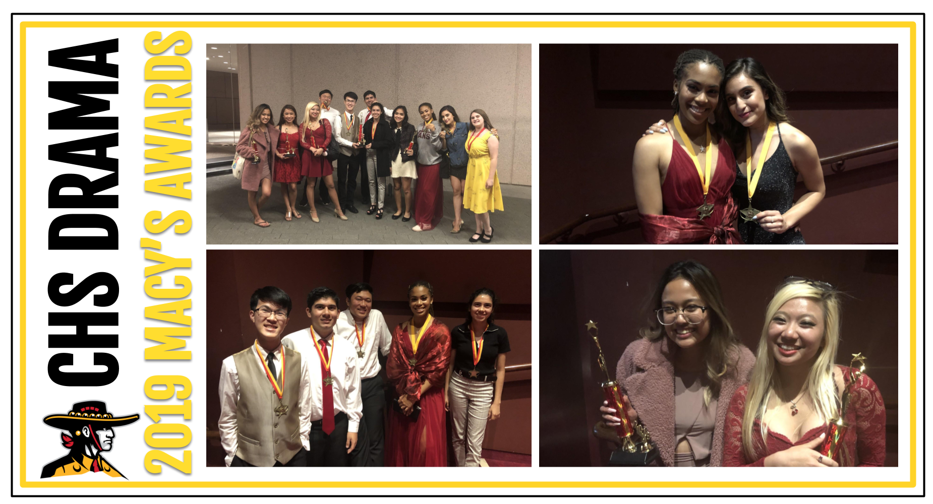 CHS Drama Macy's Awards 2019