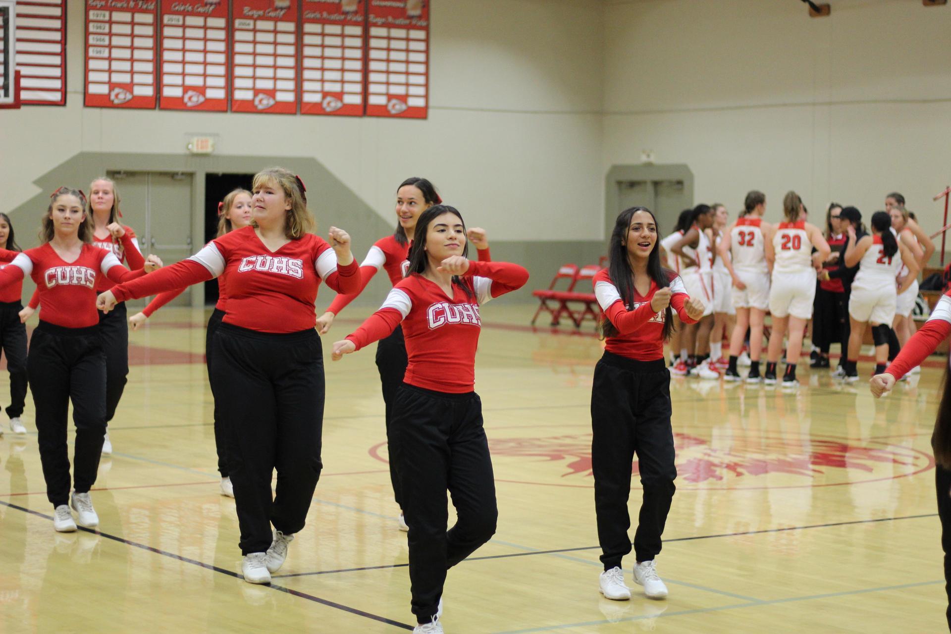 Tribe Cheer cheering