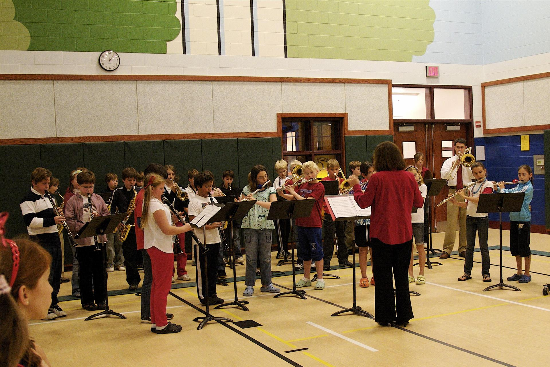 Band and Orchestra Students