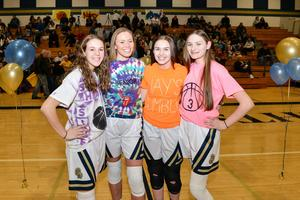 pic of Knoch Girls' Basketball seniors