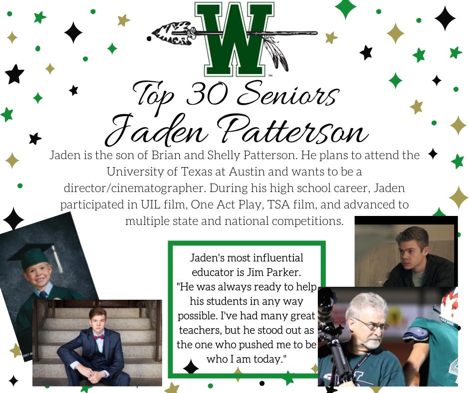 graphic of jaden patterson