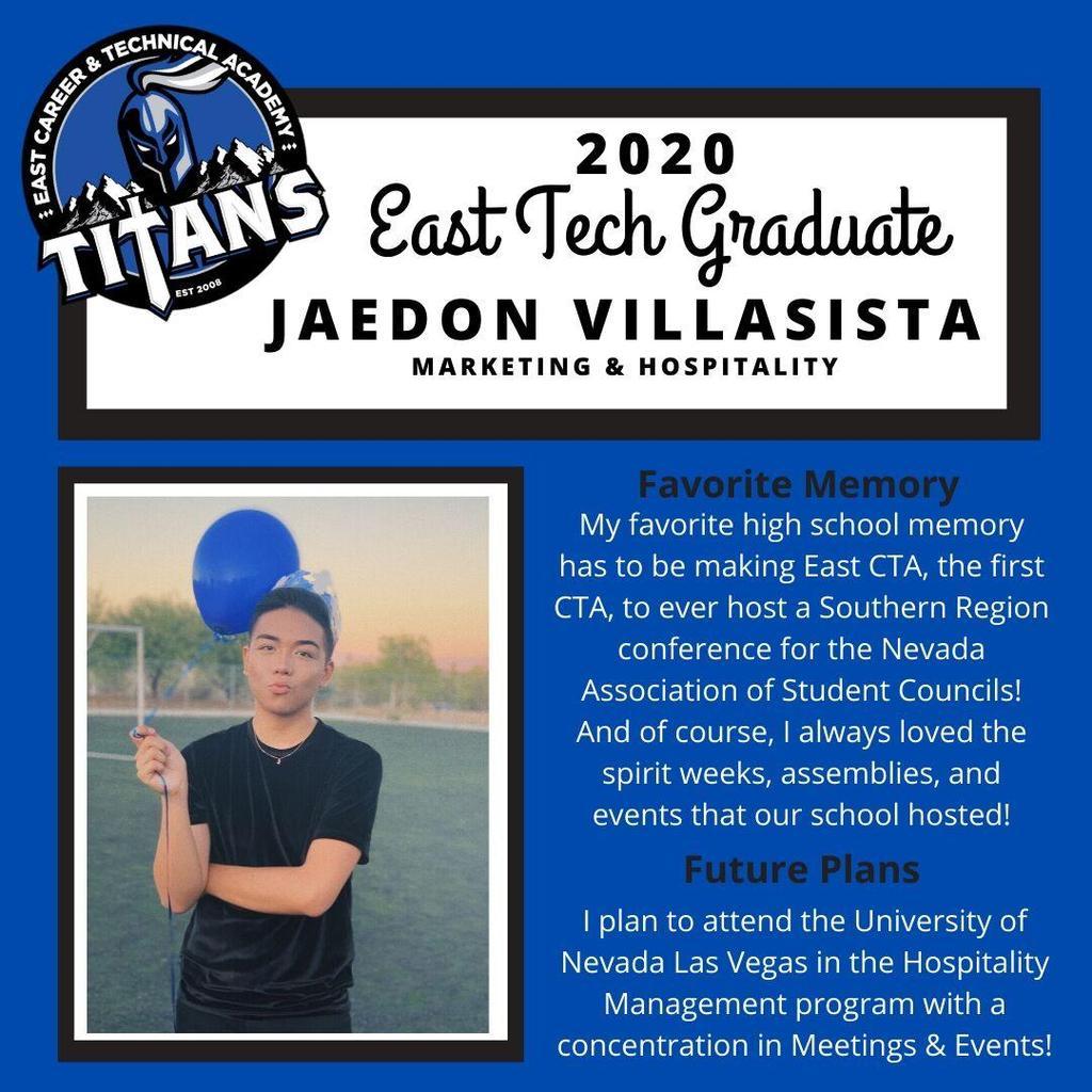 Spotlight Jaedon Villasista