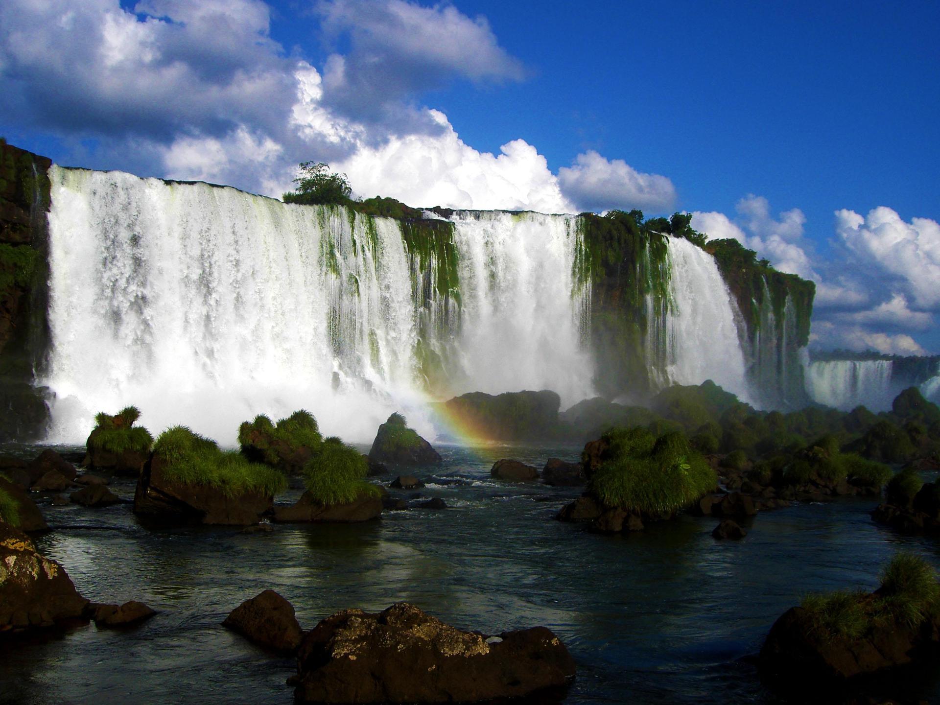 Iguazú Falls en Argentina