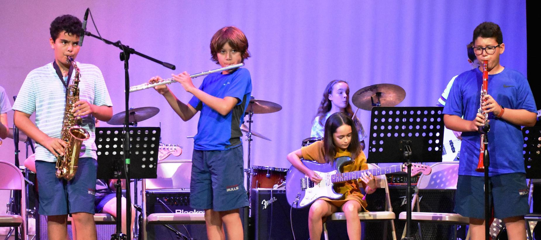Music program at The Baldwin School of Puerto Rico