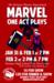 Marvel publicity poster
