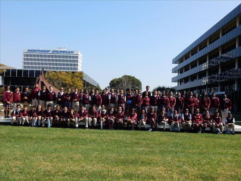 Wilder's Middle School Students visit Northrop Grumman Featured Photo