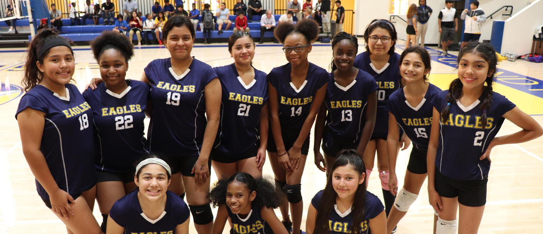 Lady Eagles Volleyball