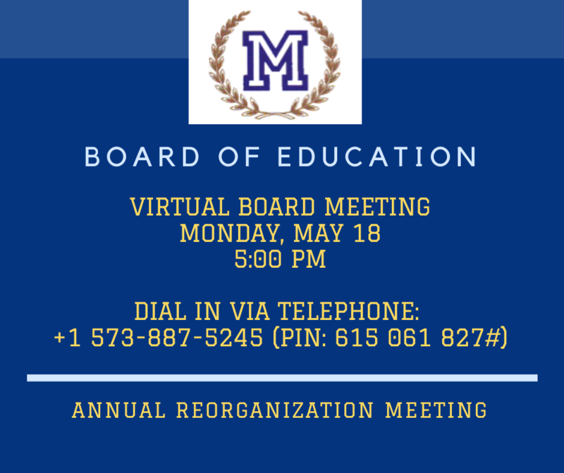 BOE meeting announcement