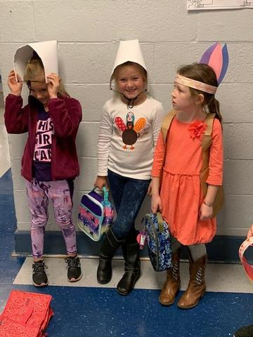 Thanksgiving with 1st Grade