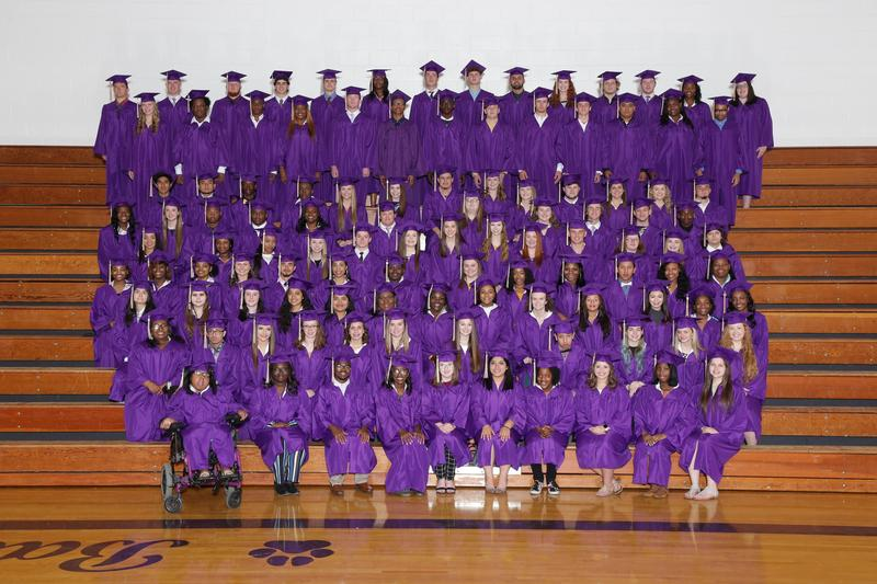 Pictured is the 2019 graduating class from B-L High School.  Picture is courtesy of Strawbridge Studios.