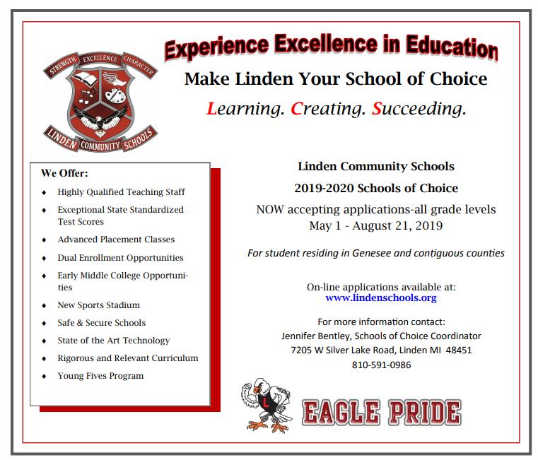 School of Choice 2019-20 Thumbnail Image