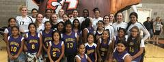 Biola and Central Volleyball