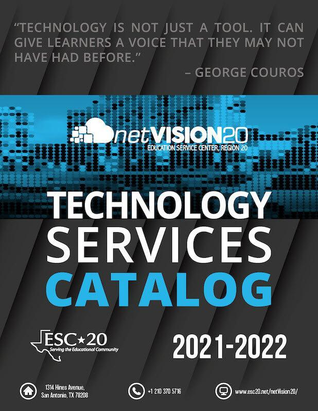 2021-22 Technology Services Products and Services Catalog Cover