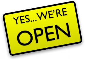 School is Open!