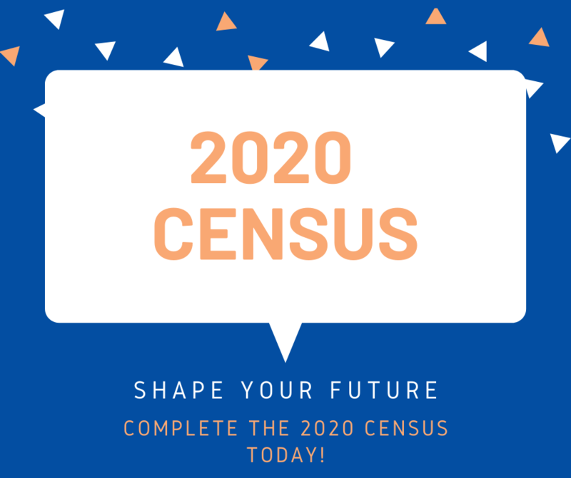 Sign encourages readers to participate in the 2020 Census