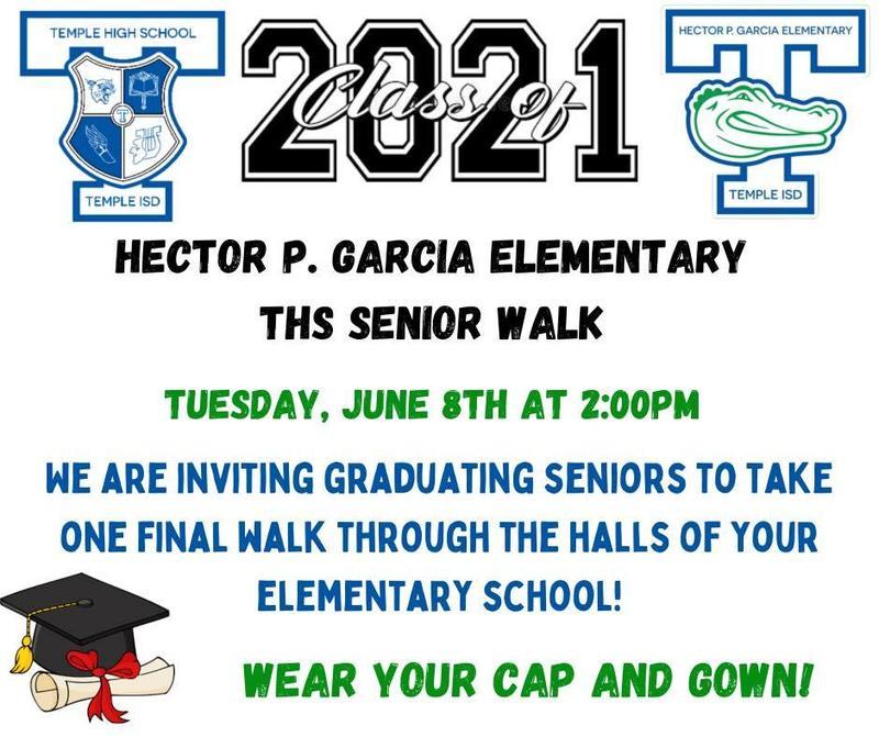 THS Senior Walk Featured Photo