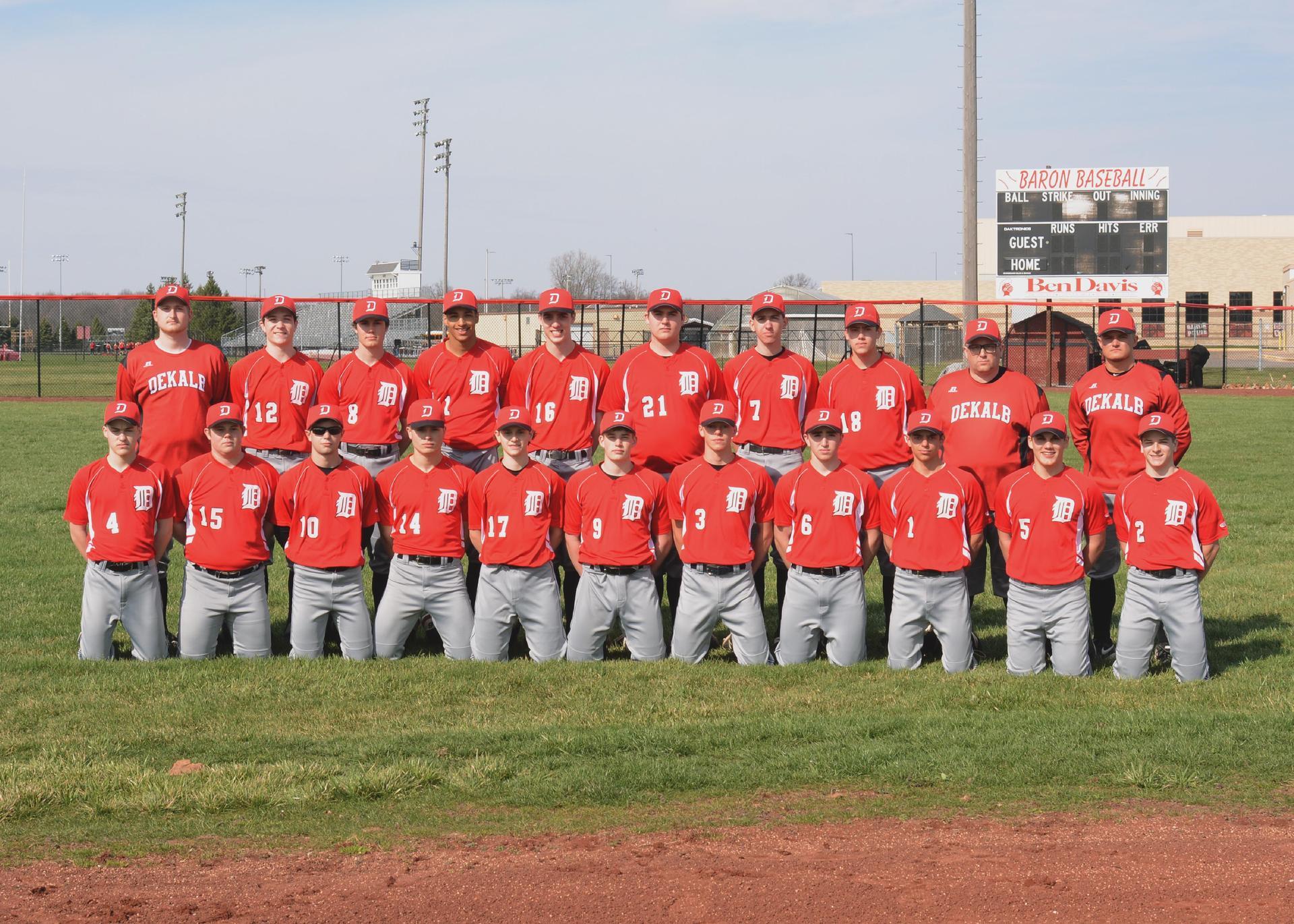 2020-2021 Varsity Baron Baseball