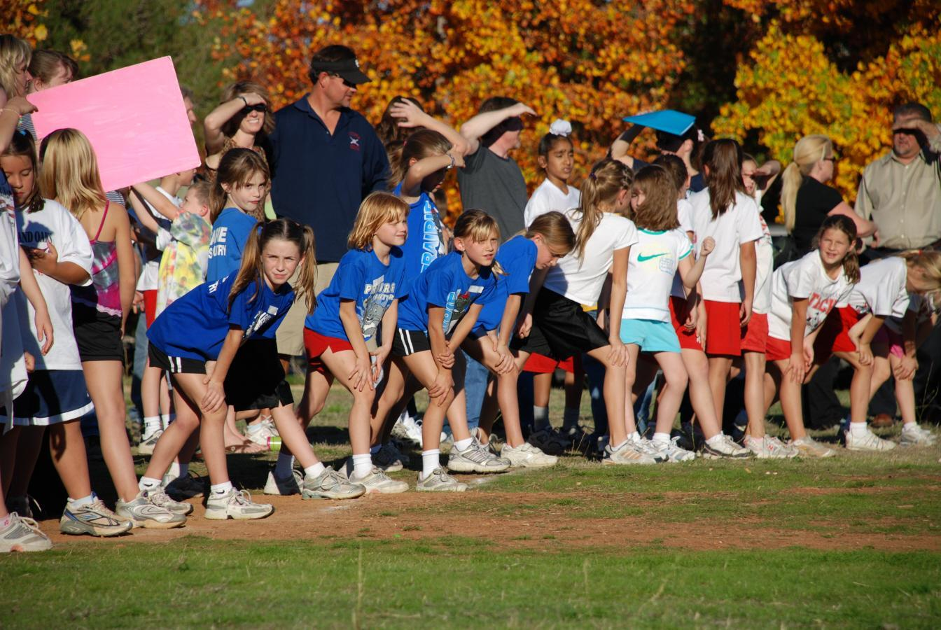 Prairie Students at a Cross-Country Run