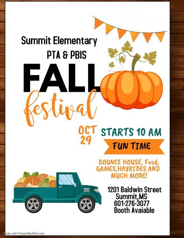 Summit Elementary Fall Festival