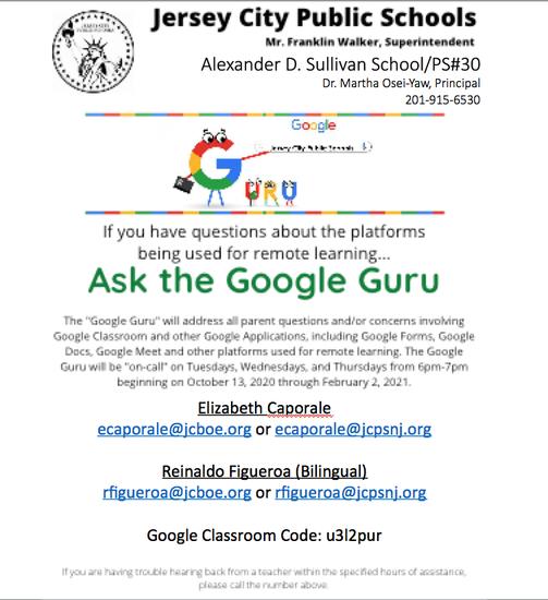 Google Guru-English