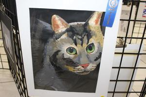 Award-winning art produced by a TBS student