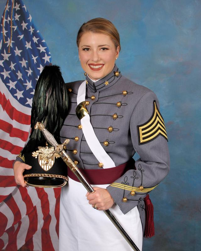 TK graduate Amy Ziccarello is a graduate of the Military Academy at West Point.