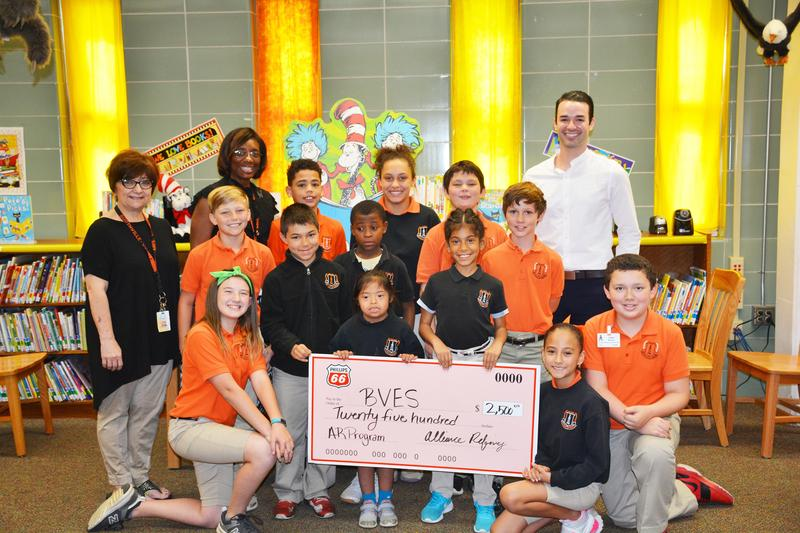 Phillips 66 Alliance Refinery Supports BVES Reading Program Thumbnail Image