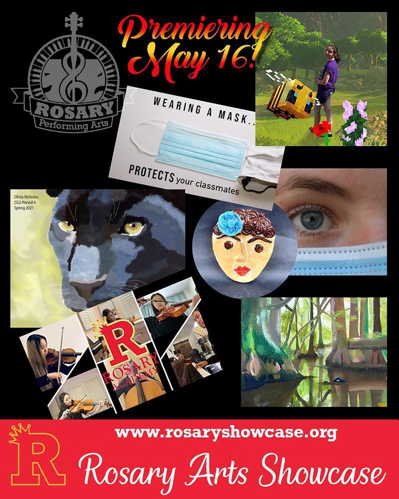 2021 Rosary Arts Showcase Featured Photo
