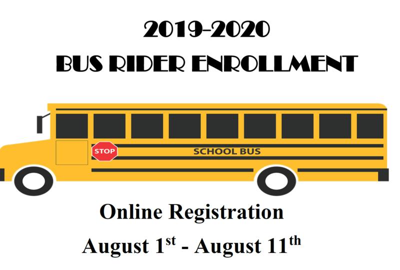 2019-2020 Bus Rider Registration Thumbnail Image