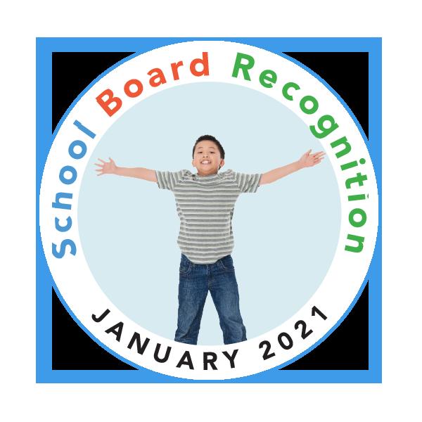 January School Board Appreciation