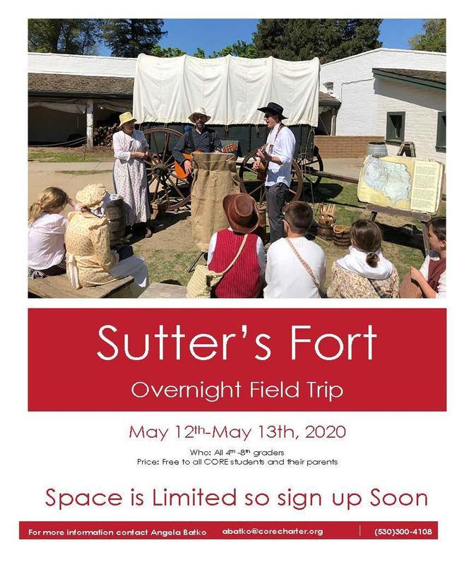 Sutter's Fort Flyer