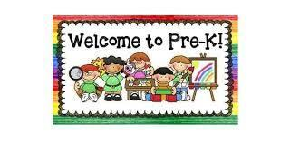 Welcome to pre-K image