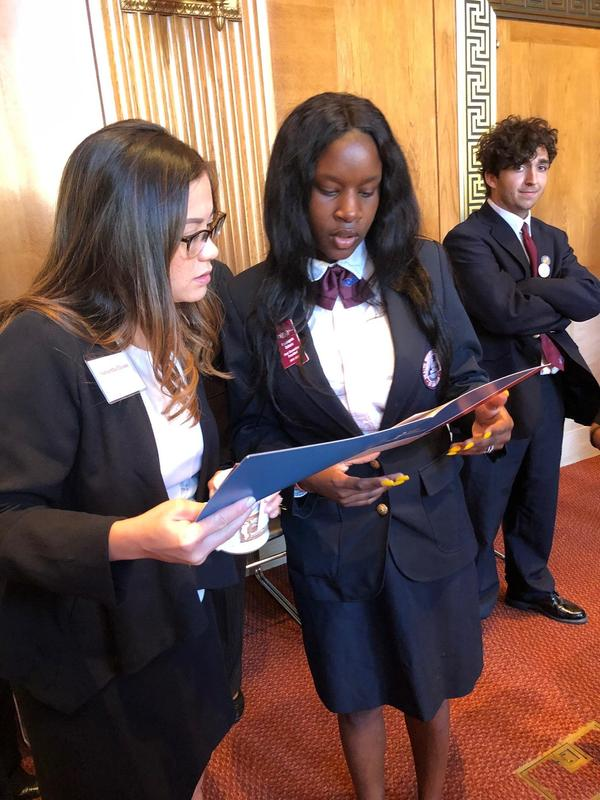 HHS Senior Represents HOSA in Washington, DC Featured Photo